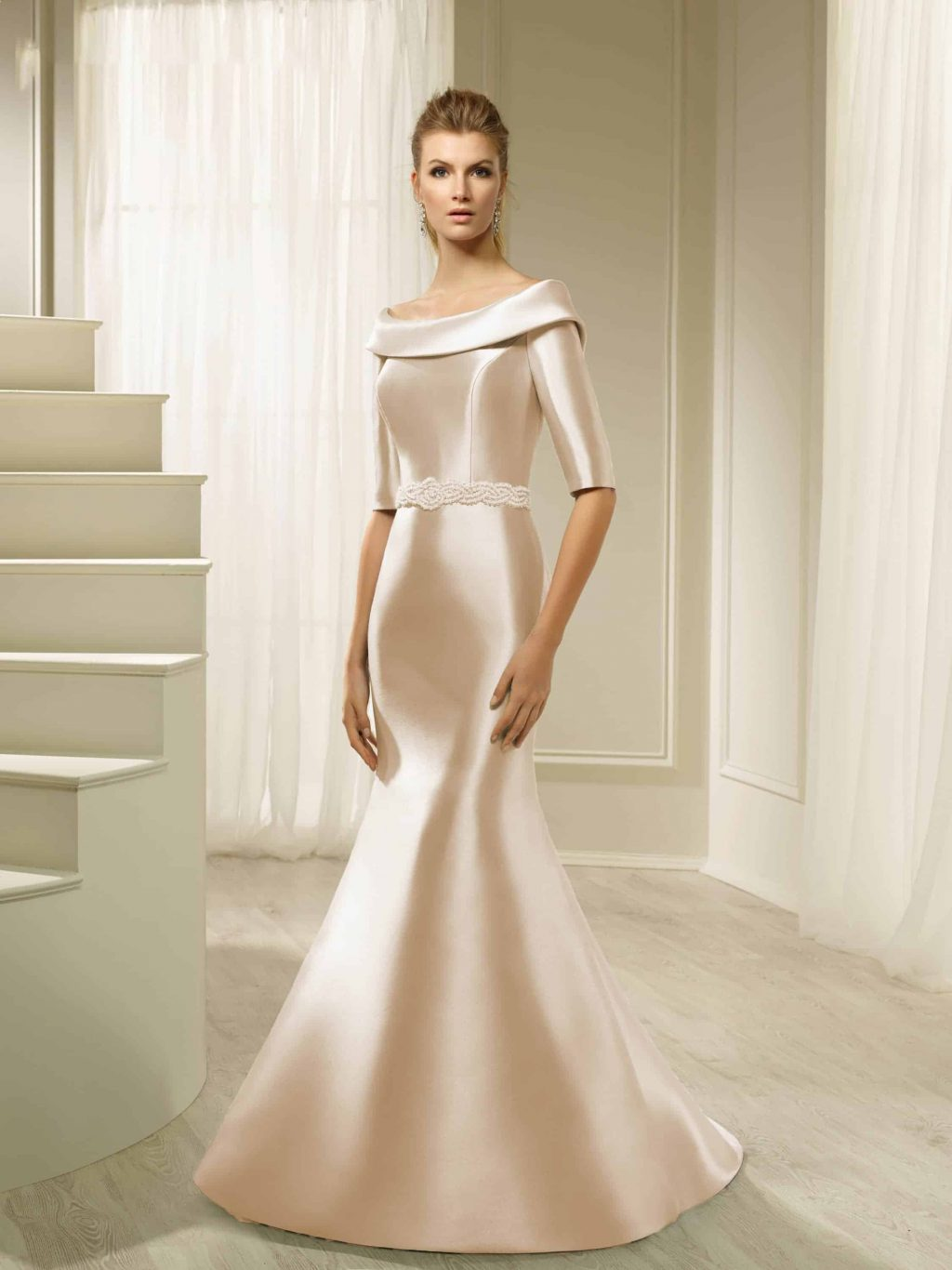 Long fitted dress elegant maternity dress classic dress   Etsy